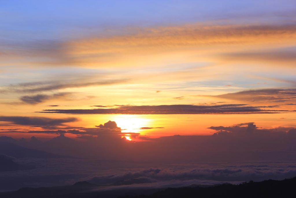 sunrise bromo