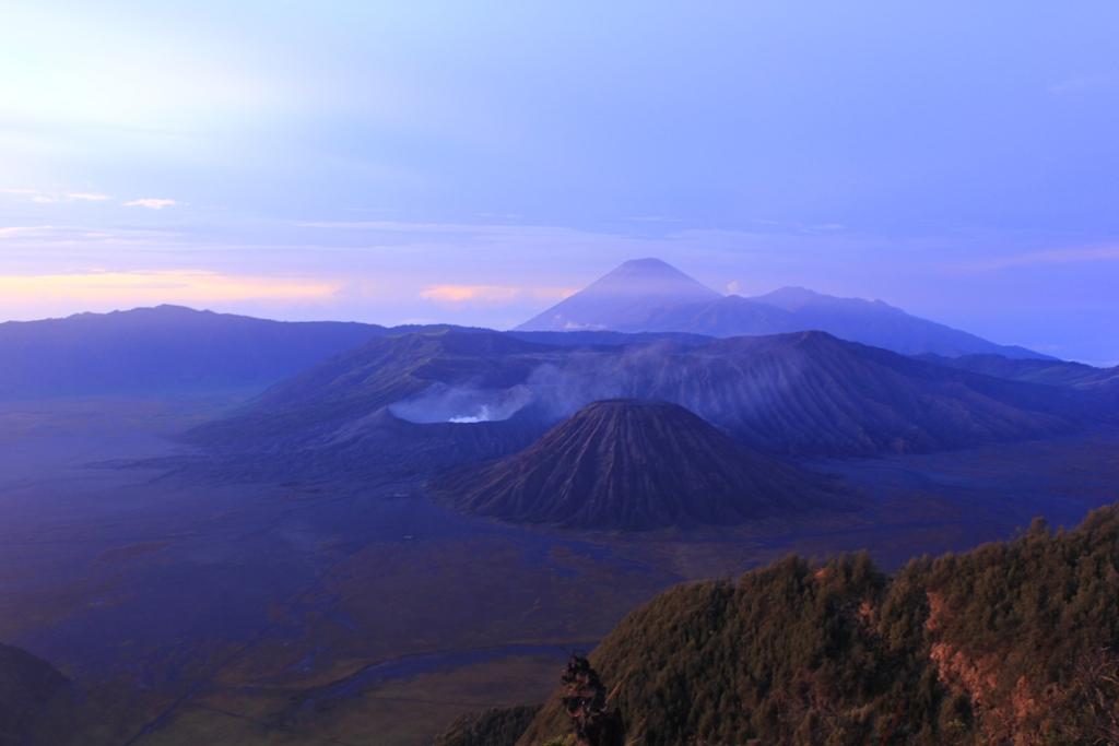 view bromo mountain