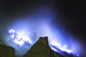 ijen blue fire